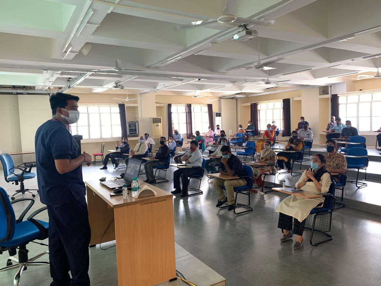 Awareness session conducted on covid-19